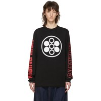 Yang Li Black 'Samizdat' Rising High Long Sleeve T Shirt