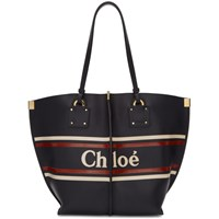 Chloe Black Medium Vick Tote