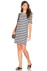 Splendid Topsail Stripe Shirt Dress Navy