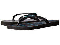 Havaianas Top Stripes Logo Sandal Black Turquoise Men's Sandals