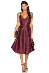 Keepsake Translate Dress Burgundy