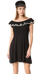 Philosophy Di Lorenzo Serafini Cap Sleeve Dress Black