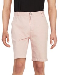 7 For All Mankind Solid Chino Shorts Rose