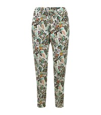 Etro Printed Pyjama Trousers Female White