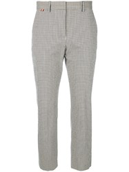 Paul Smith Plaid Cropped Trousers Multicolour