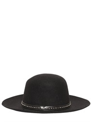 Htc Hollywood Trading Company Studded Lapin Wide Brim Hat