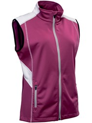 Abacus Aberdeen Softshell Gilet Purple