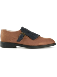 Swear 'Vienetta18' Buckled Loafers Brown