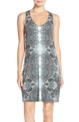 Women's Tart 'Kay' Stretch Modal A Line Tank Dress Aztec Python
