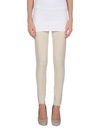 Gran Sasso Trousers Leggings Women Beige
