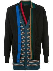 Kolor Knitted Layered Cardigan 60
