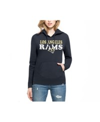 47 Brand '47 Women's Los Angeles Rams Headline Hooded Sweatshirt Navy