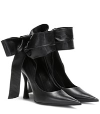 Balenciaga Dance Knife Leather Pumps Black