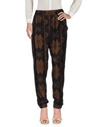 Desigual Trousers Casual Trousers Khaki