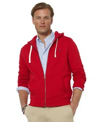Polo Ralph Lauren Full Zip Fleece Hoodie Rl Red 2000