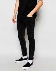 Dr. Denim Dr Denim Jeans Snap Skinny Fit Black Aged Wash