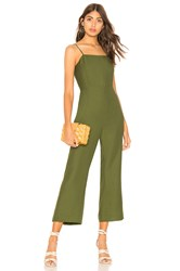 Line And Dot Francine Jumpsuit Olive