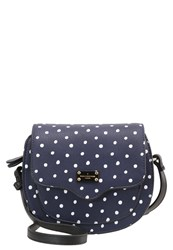 Paul's Boutique Monument Francesca Across Body Bag Navy Dark Blue