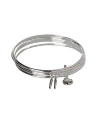Bcbgeneration Marquise Group Stackable Bracelets Silver