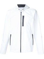 Ovadia And Sons 'Oxygen' Hooded Jacket White