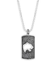 Effy Classic Sterling Silver Pendant Necklace