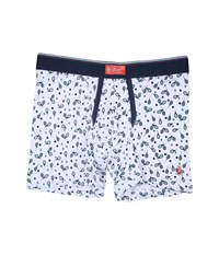 Original Penguin Single Boxer Brief Rackets Men's Underwear White