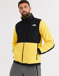 The North Face Denali Jacket In Yellow