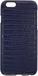 Paul Smith Blue Leather Embossed Tejus Iphone 6 Case