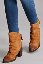 Forever 21 Sbicca Zippered Booties