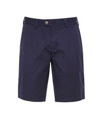 Ted Baker Funtess Jacquard Spotted Chino Shorts Blue