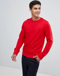 Selected Homme Sweatshirt Barbados Cherry Red