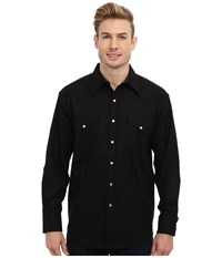 Pendleton L S Canyon Shirt Black Men's Long Sleeve Button Up