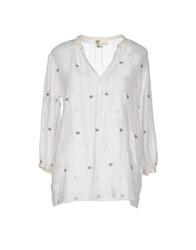 Local Apparel Shirts Blouses Women White