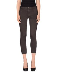 Twin Set Simona Barbieri Denim Denim Trousers Women Cocoa