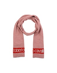 Roberto Cavalli Oblong Scarves Red