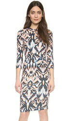 Just Cavalli Khalo Print Dress Pearl