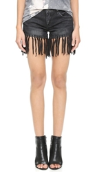 Blank Fringe Shorts Grey Area Anatomy