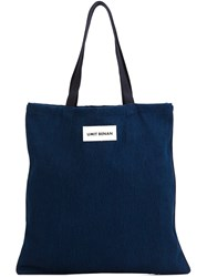 Umit Benan Shopper Tote Blue