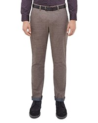 Ted Baker Wegton Classic Fit Trousers Natural