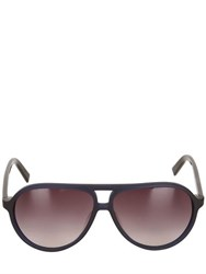 Karl Lagerfeld Paris Acetate Aviator Sunglasses