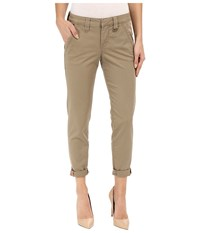 Jag Jeans Dana Tapered Boyfriend Chino Pant In Bay Twill Hazelnut Women's Casual Pants Brown