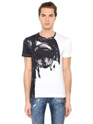 Bikkembergs Printed Cotton Blend T Shirt