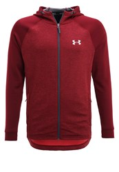 Under Armour Tracksuit Top Red Cardinal Silver