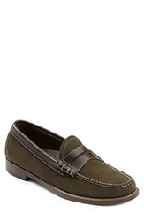 G.H. Bass Men's And Co. 'Larson Weejuns' Penny Loafer Olive Suede