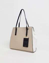Aldo Winged Tote Bag Beige