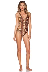 Cami And Jax Cami Jax Savannah Swimsuit Brown