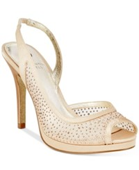 Adrianna Papell Georgi Evening Sandals Women's Shoes Nude