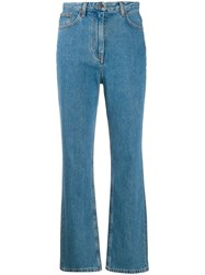 The Row Straight Leg Jeans Blue