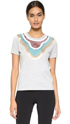 Giambattista Valli Short Sleeve Tee Grey