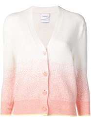 Barrie Gradient Effect Cardigan Neutrals